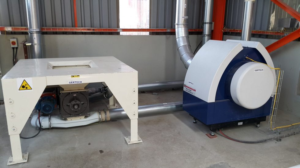 Pneumatic conveying Blower and hopper